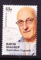 2010. AUSTRALIAN DECIMAL. Australian Legends. 55c. David Malouf. FU. - 2000-09 Elizabeth II