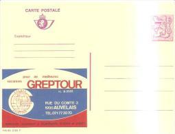 79552) BELGIO Intero Postale Pubblicitario  Da 7.5fr. Nuova Greptour - Ganzsachen