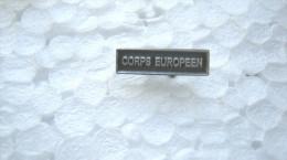 AGRAFE POUR MEDAILLE DE RAPPEL DIXMUDE CORPS EUROPEEN EXCELLENT ETAT