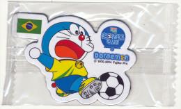 DORAEMON - BRASIL 2014 FOTBALL WORLD CUP FRIDGE MAGNET BRAZIL - SEALED - Characters