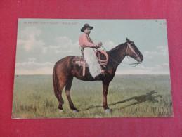 Cowboy An Old Time Cow Foreman  Bronco Bob  -ref   1396 - Altri
