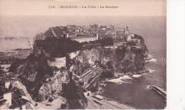 CPA Monaco - La Ville - Le Rocher - 1928 (6860) - Monte-Carlo