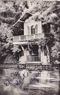 Rare Cpsm Petit Format BRUNOY - Chalet Au Bord De L'Yerre Près Du Château - Brunoy
