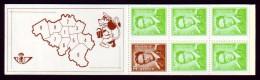 Belgie Postzegelboekje B7-T - Met Telblokje - 1970 - Markenheftchen 1953-....