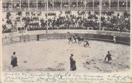 BULL FIGHT JUAREZ MEXICO 1907 - Stempel El Paso - Mexiko