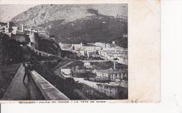 CPA Monaco - Palais Du Prince - La Tête De Chien (6868) - Fürstenpalast