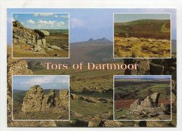 ENGLAND - AK 201930 Tors Of Dartmoor - Altri