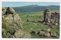 ENGLAND - AK 201933 Dartmoor - Haytor From Hound Tor - Altri