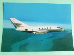 G.A.M DASSAULT SUD AVIATION - MYSTERE 20, Jet Falcon, Bi Réacteurs D'affaires Et De Liaisons. - 1946-....: Moderne