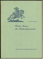 Altes Heft Von Borek 1965 : Kleines Brevier Für Briefmarkensammler - Briefmarken