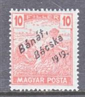 Hungary BANAT-BACSKA   10 N 22   * - Banat-Bacska