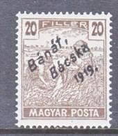 Hungary BANAT-BACSKA   10 N 23   * - Banat-Bacska