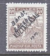 Hungary BANAT-BACSKA   10 N 31   * - Banat-Bacska
