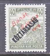Hungary BANAT-BACSKA   10 N 34   * - Banat-Bacska