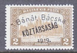 Hungary BANAT-BACSKA   10 N 36   * - Banat-Bacska