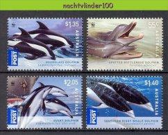 Nbj433s WWF FAUNA ZEEZOOGDIER DOLFIJN  DOLPHIN MAMMAL DELPHIN DAUPHIN MARINE LIFE AUSTRALIA 2009 PF/MNH - W.W.F.
