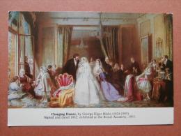 35313 PC: MUSEUM: Geffrye Museum, London: CHANGING HOMES, By George Elgar Hicks (1824-1905). - Museum