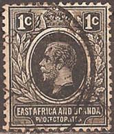 EAST AFRICA & UGANDA..1912..Michel # 42...used. - Kenya, Uganda & Tanganyika