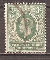 EAST AFRICA & UGANDA..1912..Michel # 43...used. - Kenya, Uganda & Tanganyika