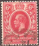 EAST AFRICA & UGANDA..1912..Michel # 44...used. - Kenya, Uganda & Tanganyika