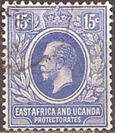 EAST AFRICA & UGANDA..1912..Michel # 47...used. - Kenya, Uganda & Tanganyika