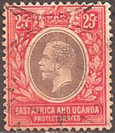 EAST AFRICA & UGANDA..1912..Michel # 48...used. - Protectorados De África Oriental Y Uganda
