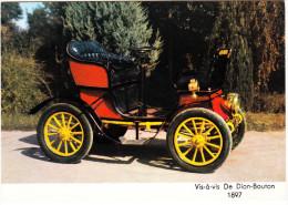 De Dion-Bouton 'Vis-à-Vis' - 1897  - France - Passenger Cars
