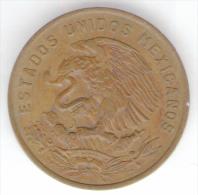 MESSICO 20 CENTAVOS 1969 - Messico