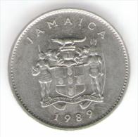 GIAMAICA 10 CENTS 1989 - Giamaica