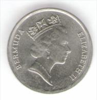 BERMUDA 10 CENTS 1990 - Bermudes