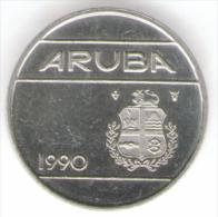 ARUBA 25 CENTS 1990 - Altri – America