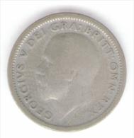 GRAN BRETAGNA SIX PENCE 1926 AG - 1902-1971 : Monete Post-Vittoriane