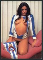 "Erotic Girl ""CLUB DEPORTIVO ESPAÑOL"" Postcard - Size 15x10 Cm. Aprox. - Postales"