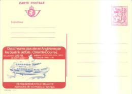 79554)INTERO POSTALE NUOVA TWEE UUR SNELLER NAAR ENGLAND MET DE SEALINK JETFOILS7,5 FR - Enteros Postales