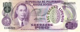 Philippines P.157b 100 Piso 1970  Unc - Filippijnen