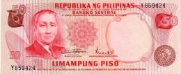 Philippines P.151  50 Piso 1970  Unc - Filippine