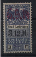 TIMBRES FISCAUX / SOCIO POSTAUX / ALSACE LORRAINE N°30 13 SEMAINES - Revenue Stamps