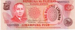 Philippines P.163c  50 Piso 1978  Unc - Filippine