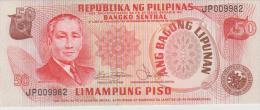 Philippines P.163b  50 Piso 1978  Unc - Filippine