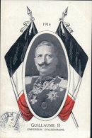 Guillaume II Et Drapeau (645) - Familias Reales