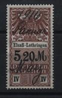 TIMBRES FISCAUX / SOCIO POSTAUX / ALSACE LORRAINE / N° 32 / 13 SEMAINES - Revenue Stamps