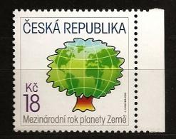 République Tchèque 2008 N° 494 ** Année Internationale, Planète Terre, Arbre, Globe Terrestre, Ecologie, Planisfère - Nuevos