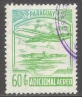 Paraguay 1986 - Adicional   : Mi. Zwang 6 Ø -  Flugzeug / Airplane  --   (Price Is Inclusive Of Delcampe Fees)  .. E1207 - Paraguay