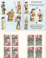 Carnet Neuf N° 2026 De 1977  Croix Rouge  Avec 4 Timbres  N° 1959  Et  1960 - Rode Kruis