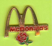 Pin Mac Do McDonald´s Rose Fleur - 2I14 - McDonald's