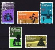 New Zealand 1972 Anniversaries Set Of 5 Used - - New Zealand