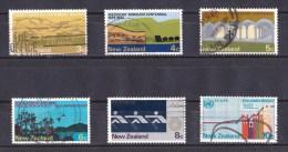 New Zealand 1973 Commemorations Set Of 6 Used - - New Zealand