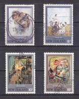 New Zealand 1973 Hodgkins Paintings Set Of 4 Used - New Zealand