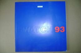 PCG/3 Catalogo OROLOGI SWATCH 1993 - Orologi Moderni