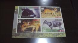 (WWF-371) W.W.F. Liberia Duikers MNH Imperf Stamps 2005 - W.W.F.
